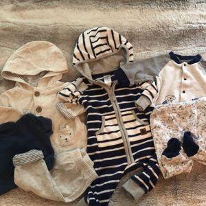 0-3 month baby boy bundle